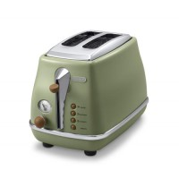 Delonghi CTOV 2103.GR Toaster Icona Vintage